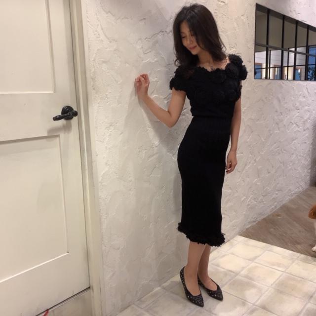 シャネル ブラックドレス