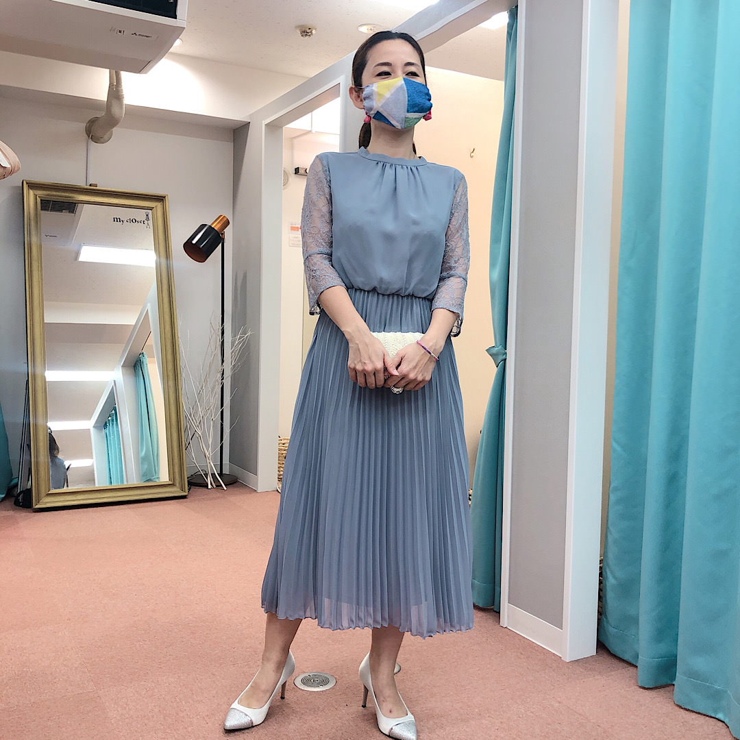 ドレス 身長155cm